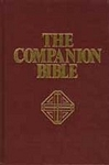 Companion Bible, Hardcover, Burgundy