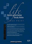KJV Life Application Large Print Study Bible