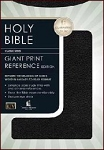 KJV Giant Print Reference Bible Leatherflex