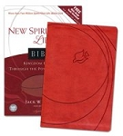NLT2 New Spirit-Filled Life Bible Red Leathersoft