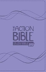 The Action Study Bible ESV Lavender Virtual Leather