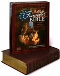 NAS Founder's Bible Brown Genuine Leather