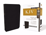 KJV Personal Size Giant Print Reference Bible Genuine Cowhide Leather