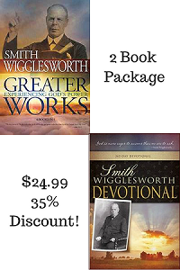 Smith Wigglesworth Devotional & Greater Works Package