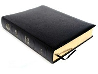 Dake Bible, Large Print, Bonded, Black