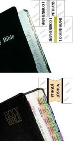 Bible Indexed Tabs - Rainbow