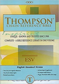 ESV Thompson Chain Reference Bible Softcover
