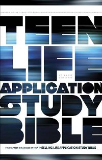 NLT Teen Life Application Study Bible Hardcover
