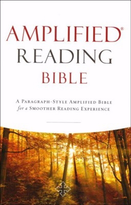 Amplified Reading Bible Hardcover