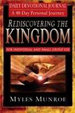 Rediscovering The Kingdom Daily Devotional Journal
