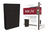 NKJV Deluxe Personal Size Giant Print Reference Bible