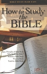 How to Study the Bible Pamphlet (Single)