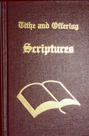 Tithe and Offering Scriptures Complete Collection