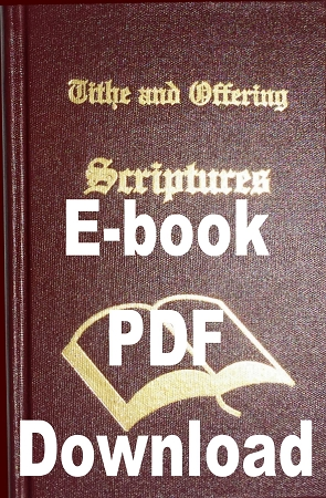 Tithe and Offering Scriptures - E-Book