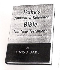 USED Dake Annotated Reference Bible NT
