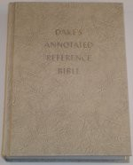 USED Dake Annotated Reference Bible - Large Print